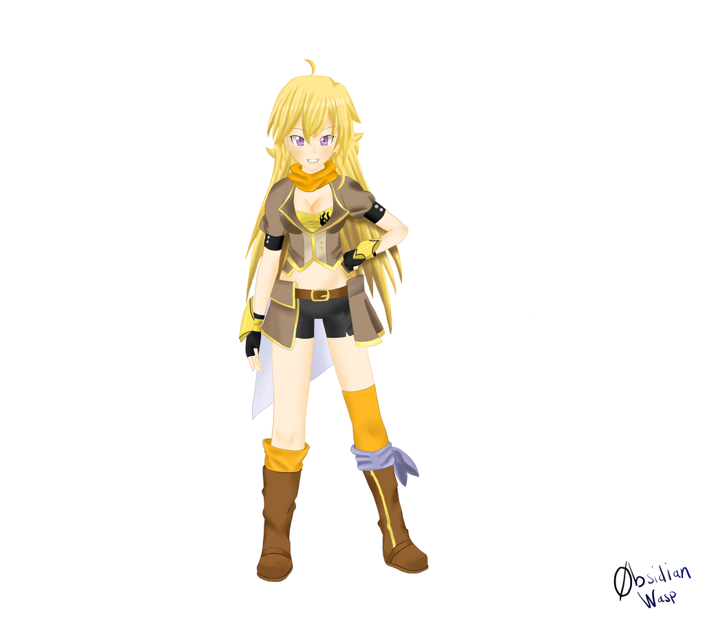 Yang Xiao Long Wallpaper: Yang Xiao Long (no Background) By ObsidianWasp On DeviantArt