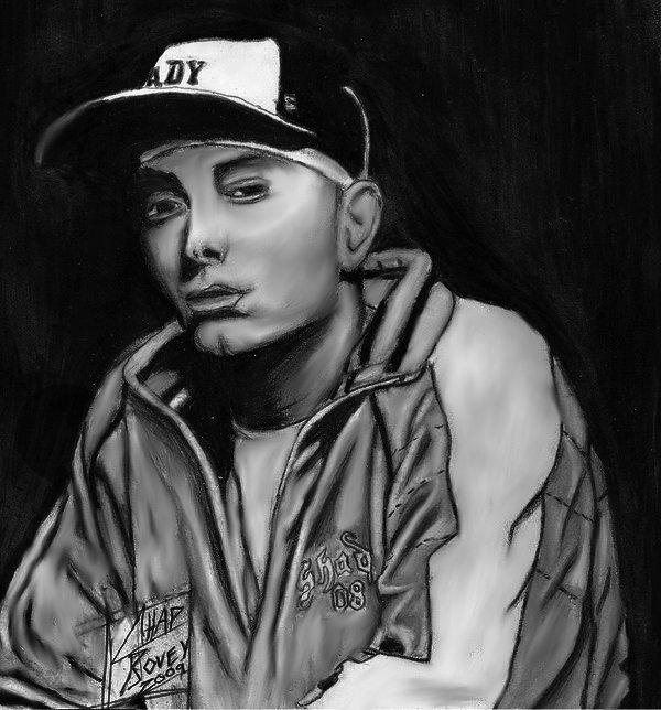 Eminem by CHADBOVEY