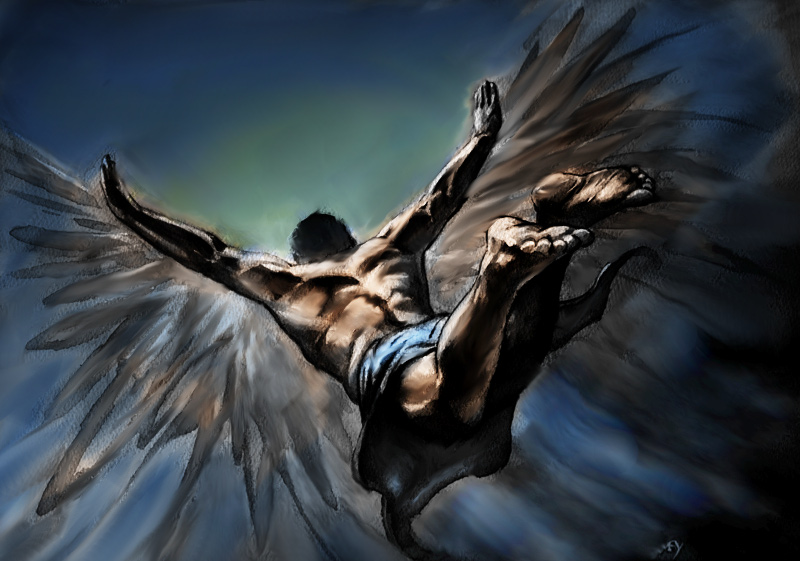 Icarus by CHADBOVEY