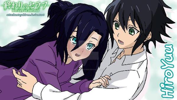 [ONS OC Pairing] HiroYuu + Happy Valentine's Day! by attackontayekiren