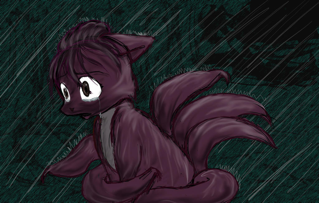 In the Rain by Heckfan