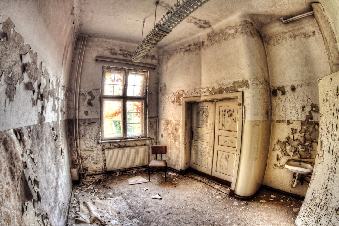Abandoned Patien Room by Beschty