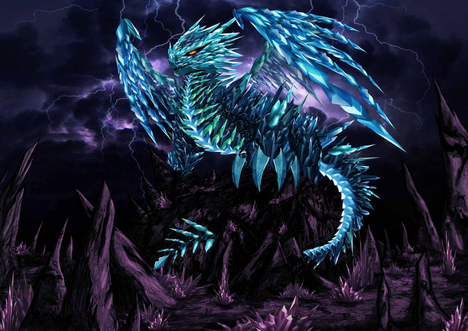 Diamond's Dragon by Screwy-Soul