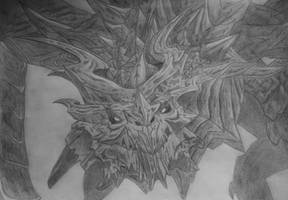 Alduin by Cinderys