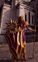 Leona (cosplay) by Cinderys