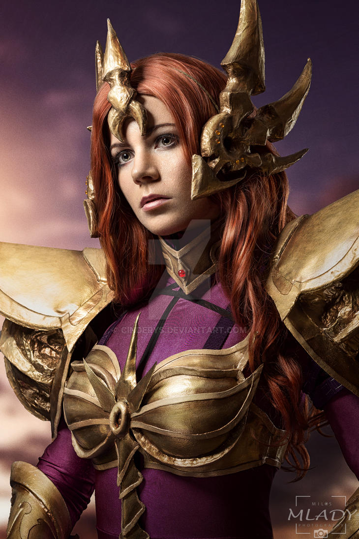Leona - League of Legends by Cinderys on DeviantArt