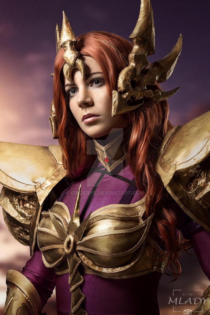 Leona - League of Legends by Cinderys on DeviantArt