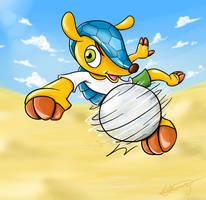 2014 FIFA Worldcup Mascot - Fuleco by Gkenzo