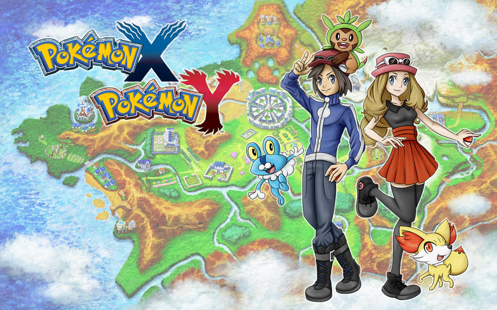 Pokemon Xy Wallpaper 401842160