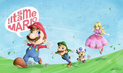 Super Mario 3D World by Gkenzo