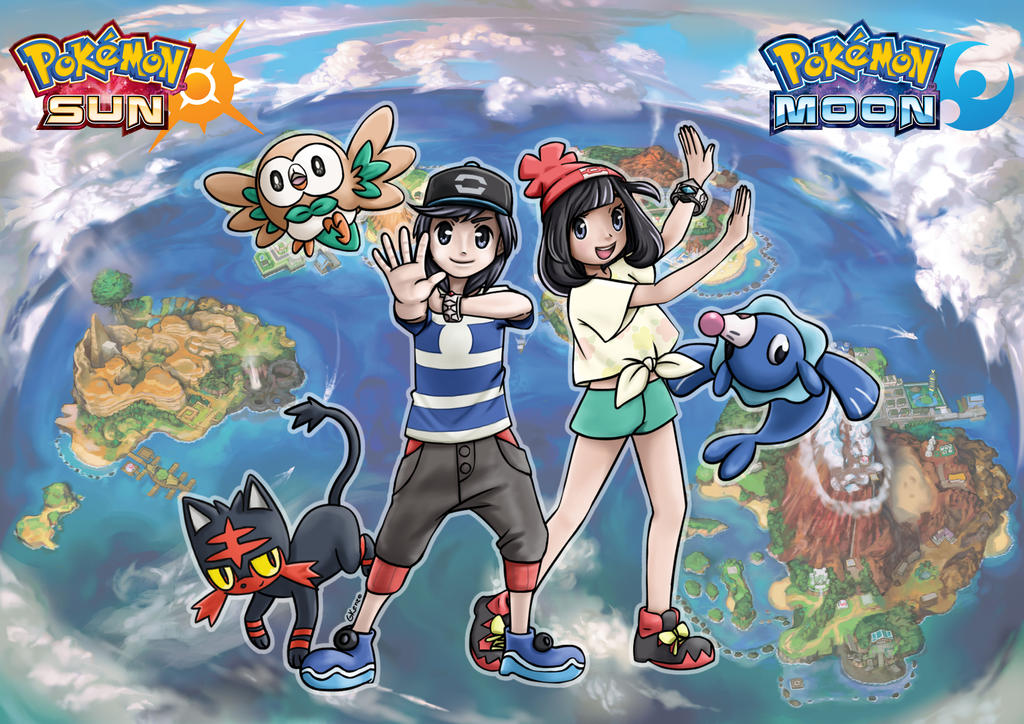 Pokemon Sun And Moon Wallpaper: Wallpaper By Gkenzo On DeviantArt