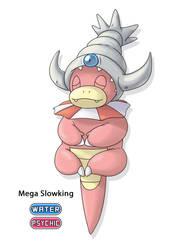 Fakemon: Mega Slowking by Gkenzo