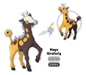 Fakemon: Mega Girafarig by Gkenzo