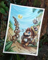 Mario's Odyssey by Gkenzo