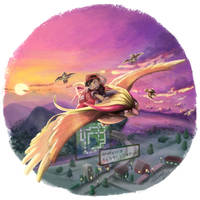 Adventure 03: Flying above Kanto