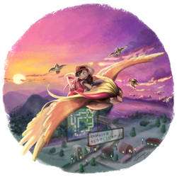 Adventure 03: Flying above Kanto by Gkenzo