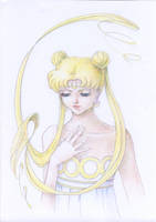 Queen Serenity by Cinnamon-Heart