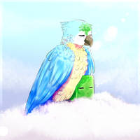 Rolf and Ikea bird, cuz why not