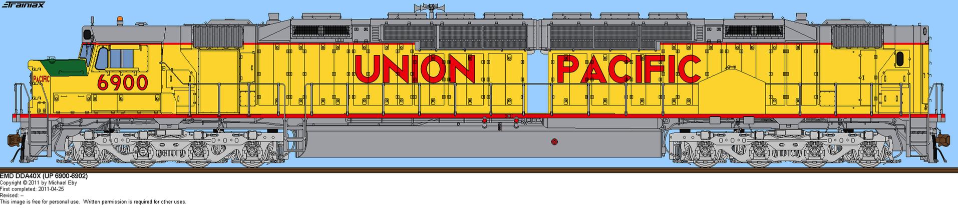 Union Pacific DDA40X 6900 by o484