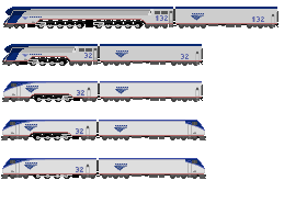 Amtrak Steam Locomotives by o484