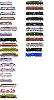 Electric Locomotives by o484