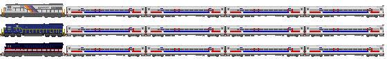 SEPTA 1993 RailWorks Trains