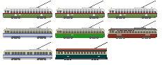 1990s SEPTA Special Trolleys
