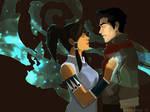The Legend of Korra: Mako and Korra