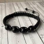 Blue Sandstone beads bracelet by JuliArtWorks
