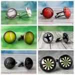 Sport cufflinks by JuliArtWorks