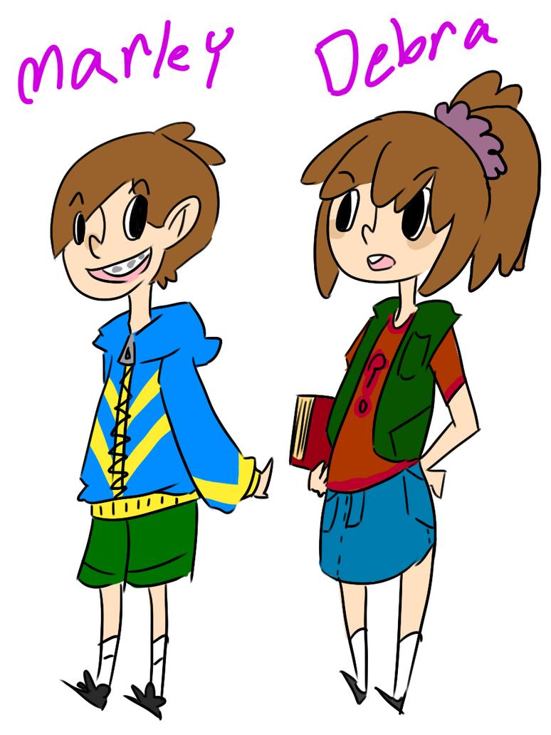 Gravity Falls genderbent 1 by CutieShark