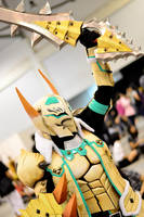 Monster Hunter Cosplay 2 (Barioth G Rank) by DragonicHeaven