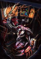 LoL Global Digi-Art Throwdown : Eternum Nocturne by DragonicHeaven