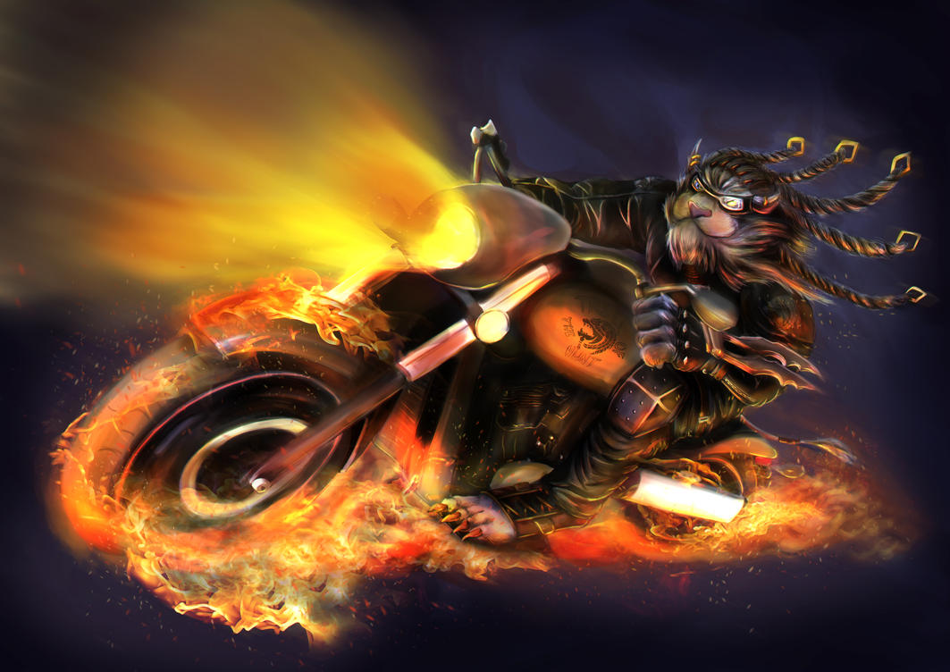 Tonight, we RIDE! by DragonicHeaven