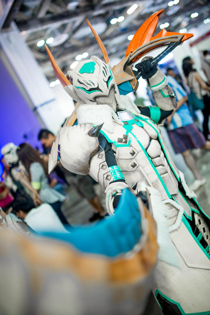 Monster Hunter Cosplay  (Barioth G Rank)@STGCC2013 by DragonicHeaven