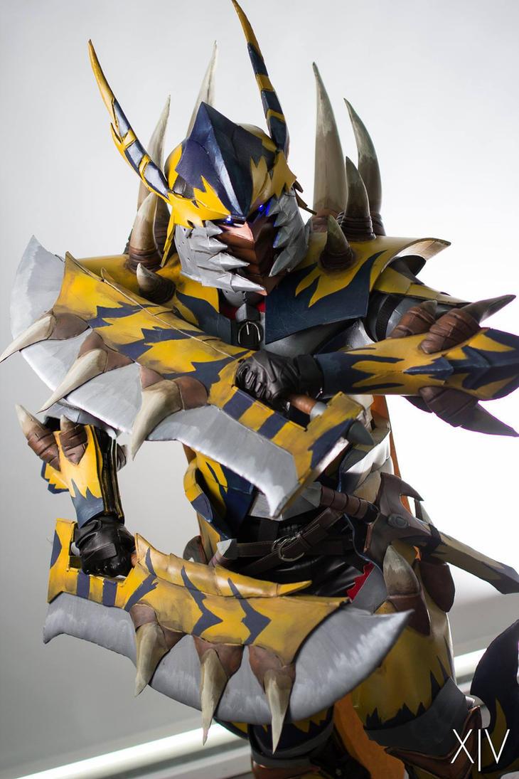AFA SG 2015: Tigrex X Blademaster 4 by DragonicHeaven