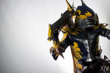 AFA SG 2015: Tigrex X Blademaster 5 by DragonicHeaven