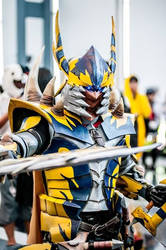 AFA SG 2015: Tigrex X Blademaster 6 by DragonicHeaven