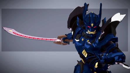 Makai Knight : Baron 01 by DragonicHeaven