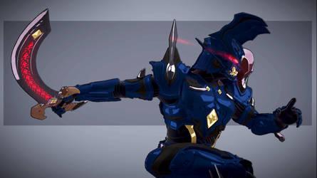 Makai Knight Baron 02 by DragonicHeaven