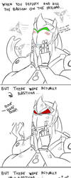 Overwatch - Genji meme by DragonicHeaven