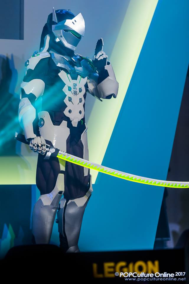 Genji Cosplay @ Gamestart (2) by DragonicHeaven