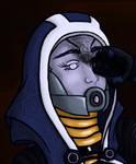Tali no mask detail