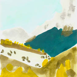 18: mountains by czochanska