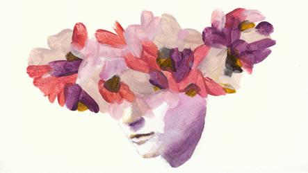 20: crown of flowers by czochanska