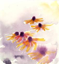 25: flower ghosts by czochanska