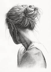 28: hair study by czochanska