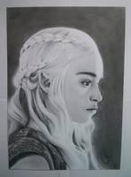 Daenerys Targaryen | Pencil Drawing