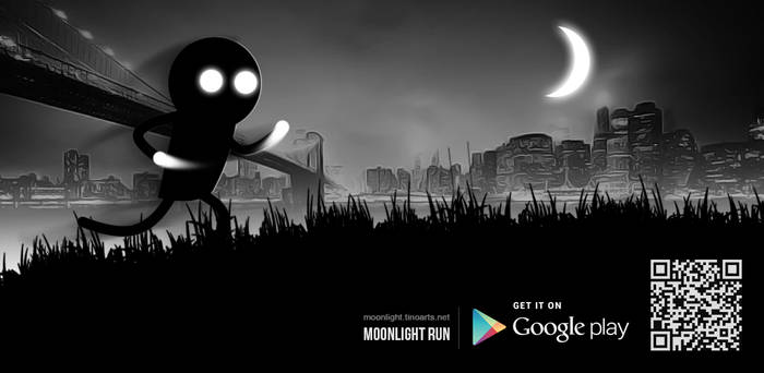 Moonlight Run | HTML5 based game for Android