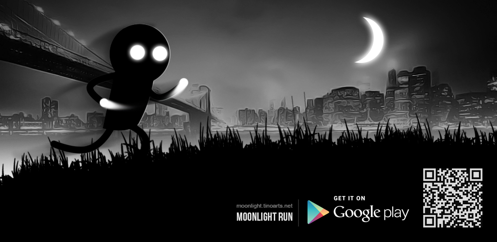 Moonlight Run | HTML5 based game for Android by Tino-artS